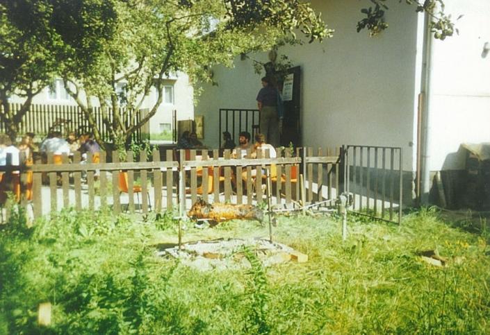 Pôvodná terasa - Penzión Rosy