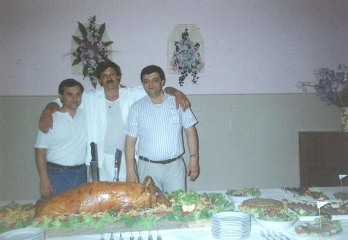 Majster kuchách v Penzión Rosy